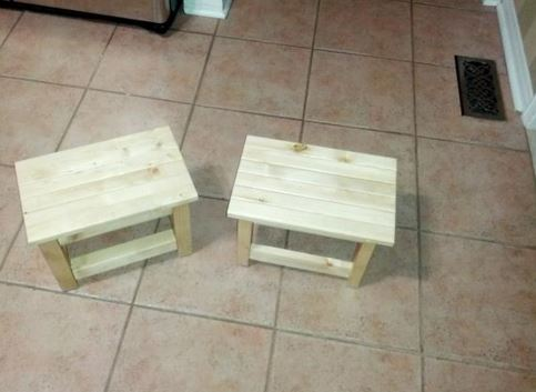 木工 小板凳和木材尺寸 183 Charlee Amp Evelyn